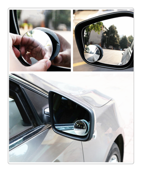 Car borderless small round blind spot mirror reversing aid for Chevrolet Blazer Traverse Tahoe Equin