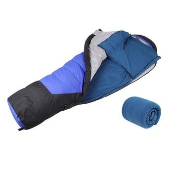 AOTU Outdoor Fleece Sleeping Bag Camping Hiking Climbing Multifuntion Ultra-light 1
