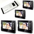 7 Inch Color  LCD  Monitor Wired Intercom Video Door Phone