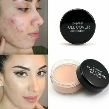 1 PCS Profissional Makeup Concealer Long Lasting Moisturizing Pore Acne Cover Face Contour Makeup Cosmetic maquiagem Beauty tool