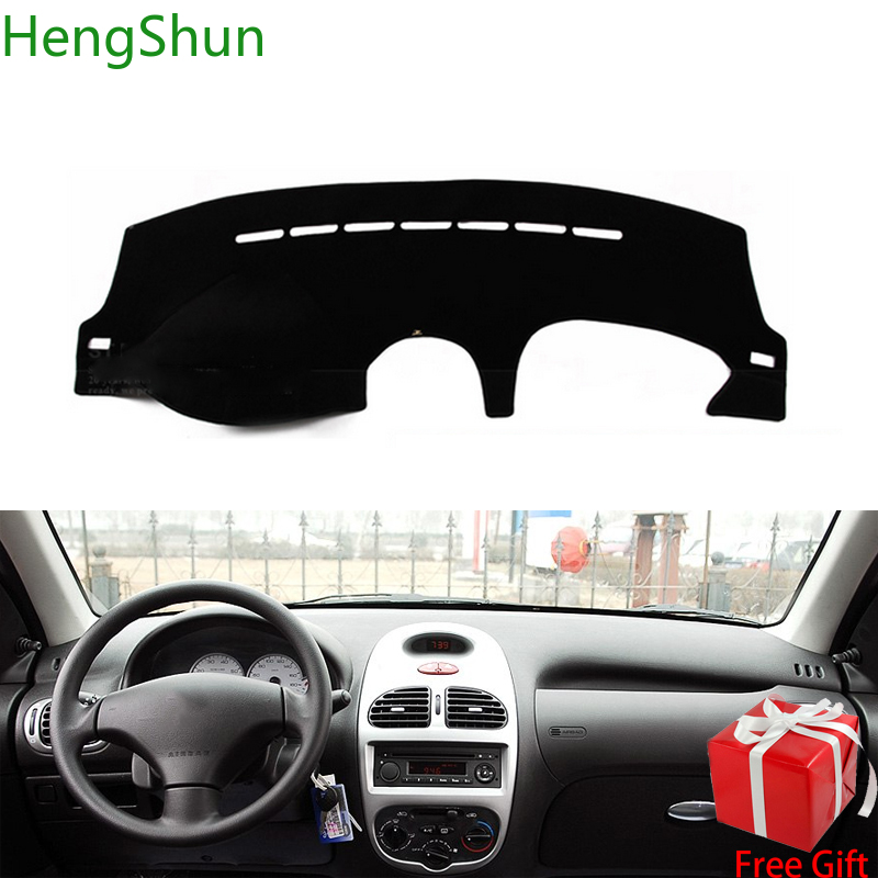 For peugeot 206 2004 2005 2006 2007 2008 Car Styling Dash Mat Dashmat Dashboard Sticker Cover Sun Shade Dash Board Cover Carpet image