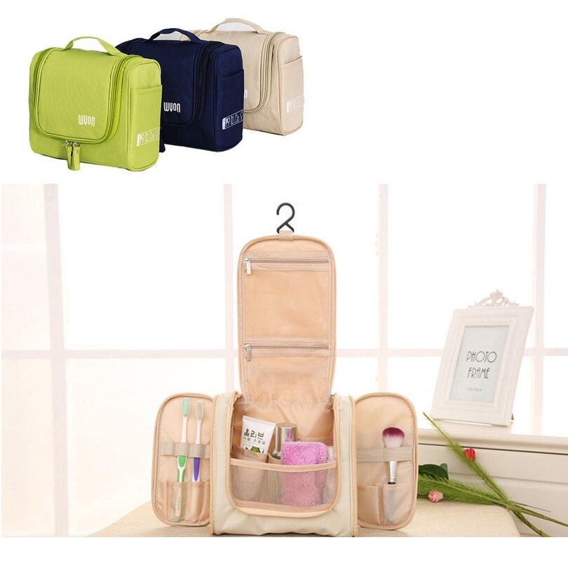 Women Cosmetic Bags Necessary Men Travel Toiletry Bag Organizer Waterproof Fashion Hanging Wash Makeup Bag Large