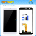100% tested replacement part full screen for Huawei honor 6 plus lcd display with touch digitizer 5.5 inch 1 piece free shipping