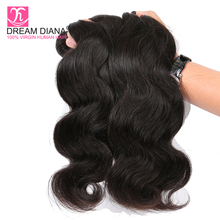 Dream Diana Brazilian Body Wave 4 Bundle Deals No-Remy Brazi