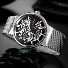 FORSINING Men Watch Top Luxury Brand Mens Casual Waterproof
