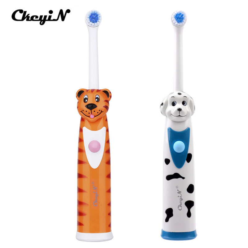 Children Electric Toothbrushes Whitening Teeth Rotary Massage Soft Bristle Electric Toothbrush Baby Dental Care Tool For kid цена и фото