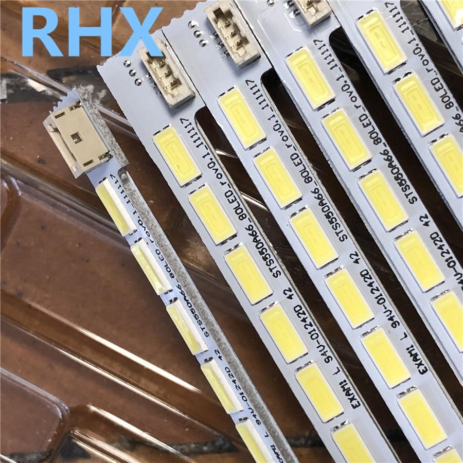5Pieces/lot    FOR  LED55K310X3D LED55K510G3D LCD Backlight Bar  LJ64-03515A STS550A66_80LED  676MM   100%NEW