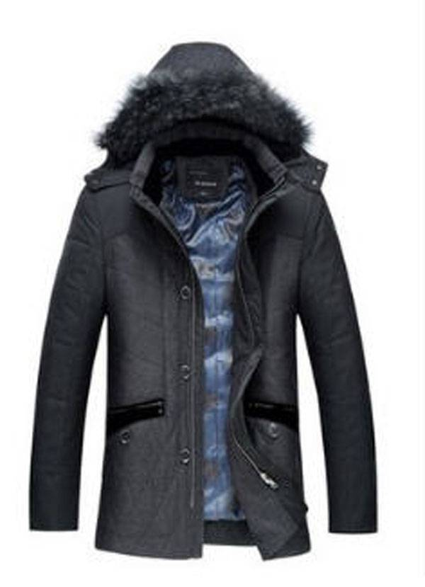 2014 men warm winter long section casual thick hooded clothes male hot sale Genuine famous brand coat jacket High quality S635 cartelo brand 2016 winter clothes the new water mink collar coat male in the long section warm coat for man
