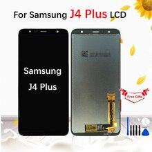 For Samsung Galaxy J4 plus 2018 J415 J415F J415G  LCD Screen Touch Digitizer Assembly for J6 plus 2018 J610 J610F LCD Display origina for samsung galaxy j4 2018 j4 plus j415 j415f j410 j6 prime j6 plus 2018 j610 lcd display touch screen j4 2018 j400 lcd