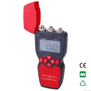 Gratis pengiriman, Noyafa NF-911 3-in-1 Multimeter Optik Serat Optik Tester Optical Power Meter Tester Visual Patahan Locator