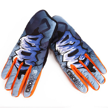 Snowboard Gloves Snowboarding Snowmobile Winter  Heated Gloves  Female Men's Skiing Gloves Cross Country Skis Equip Waterproof