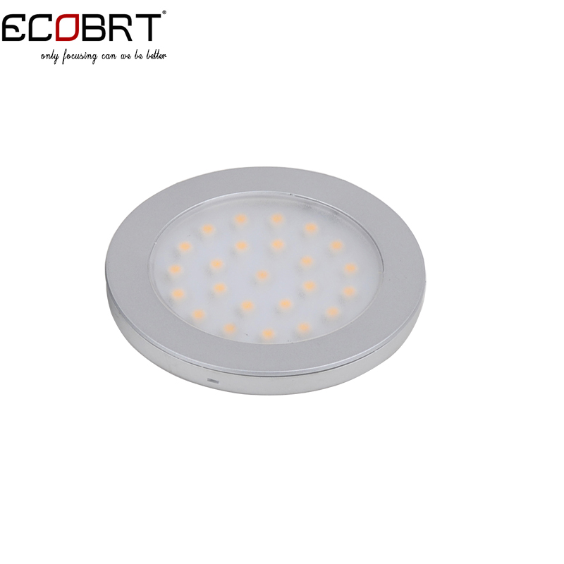 Wholesales Top fashion 24v led flat under cabinet lights 2W 12v surface battery marine boat lighting lamps 50pcs/lot