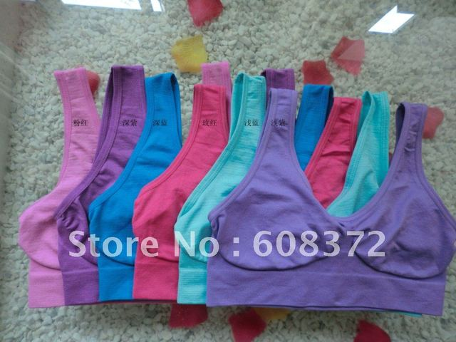 Discounging now Ahh Bra Seamless Bra Genie Bra The Comfortable and Functional Fashion Bra 9pcs/lot OPP BAG