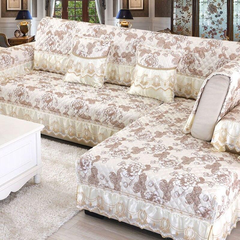 Europe Sofa cover Four Seasons Linen Sofa towel Non Slip ...