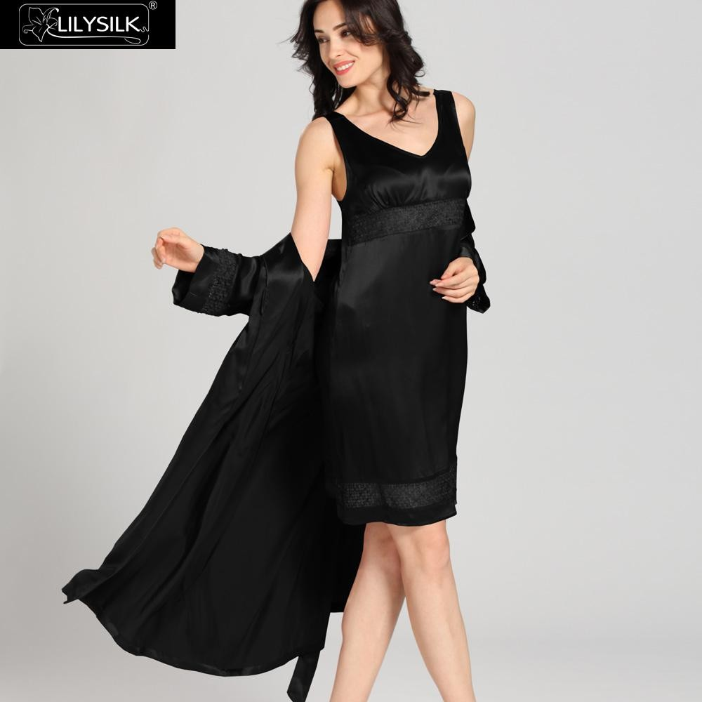 1000-black-22-momme-luxury-lacey-silk-nightgown-&-dressing-gown-set-01