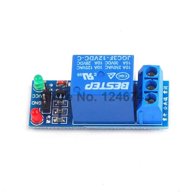 US $0 51 18% OFF|1PCS 1 Channel 12V Relay Module Low level for SCM  Household Appliance Control For Arduino-in Relays from Home Improvement on