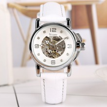 Women Watch Mechanical Watch Automatic Self Wind Tevise Top