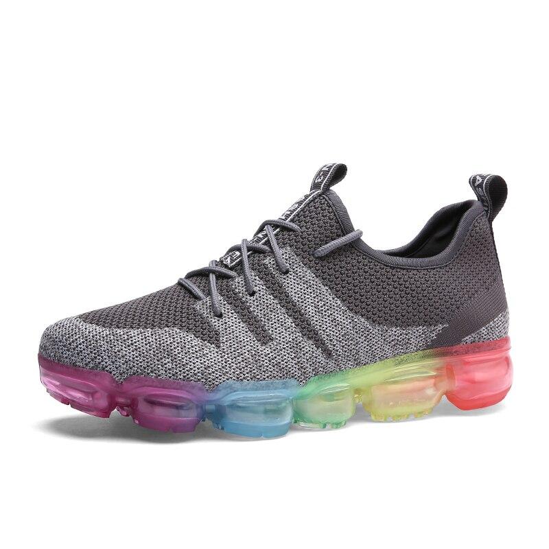 Для мужчин спортивный Кроссовки Training Обувь с дышащей сеткой полый комфорт Спортивная обувь размеры 39–44 Zapatos Para Correr мужской Обувь