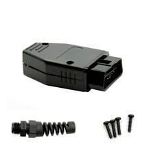 Автомобильный диагностический инструмент OBD с разъемом «папа» 16Pin OBD2 разъем OBD 2 16 Pin адаптер OBD II OBDII J1962 разъем Лучшая цена