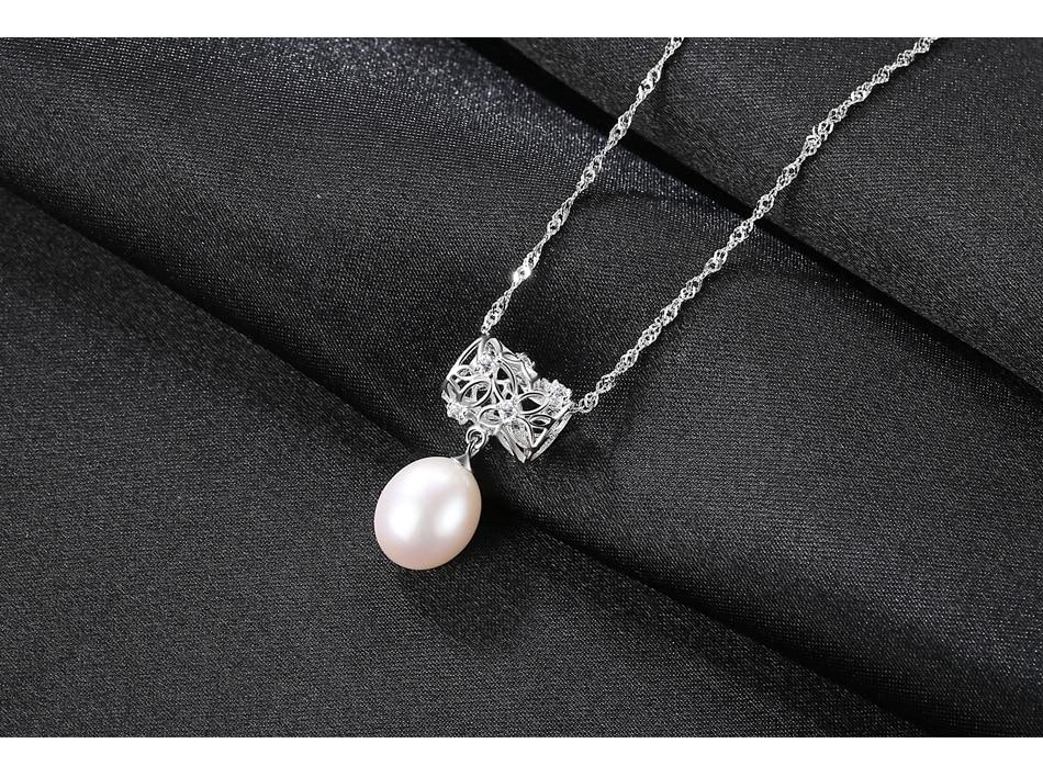 5cb75529d40d Anillo de Plata de Ley 925 genuino perla Natural Vintage piedra verde  cristal anillos joyería para
