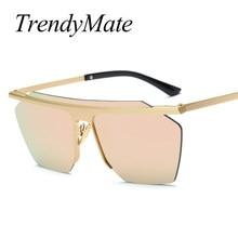 Nova Moda Óculos De Sol Dos Homens Da Marca de Luxo Designer de óculos de Sol  Sem Aro Homem Dirigindo Óculos De Sol Masculino Óc.. ce66412be6