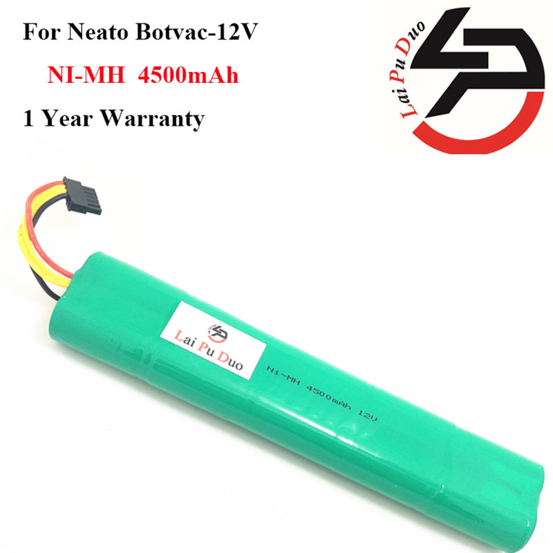 high quality 12V 4500mAh Replacement battery for Neato Botvac 70e 75 80 85 D75 D8 D85 Vacuum Cleaner battery with HEPA/Filter an 1 pcs replacement hepa filter for neato botvac 70 70e 80 85 vacuum cleaner neato botvac filter parts accessaries