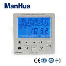 Manhua 1min~168hour 85-264VAC Longitude Latitude (Interal 3.0V lithium Ion Battery) Digital Timer Switch