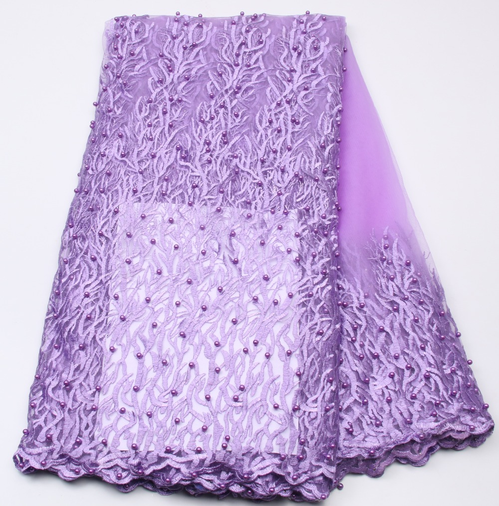 Lilac New Designs African French Lace Fabric High Quality Nigeria French Net Lace 2017 With Stones beads For Women NA538B-4Lilac New Designs African French Lace Fabric High Quality Nigeria French Net Lace 2017 With Stones beads For Women NA538B-4