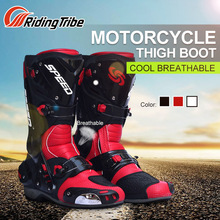 Riding Tribe Motorcycle Riding Boots Tribe Motocross Off road Racing Long Shoes Boots Outdoor Sports Riding