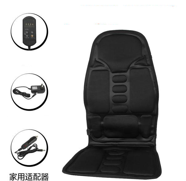 Car massager back vibration massage waist cushion chair cushion of household multifunctional massage cushion for leaning on 240337 ergonomic chair quality pu wheel household office chair computer chair 3d thick cushion high breathable mesh