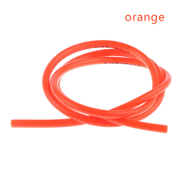 1M Gas Oil Hose Modified Fuel Line Petrol Tube Pipe For Motorcycle Bike Part