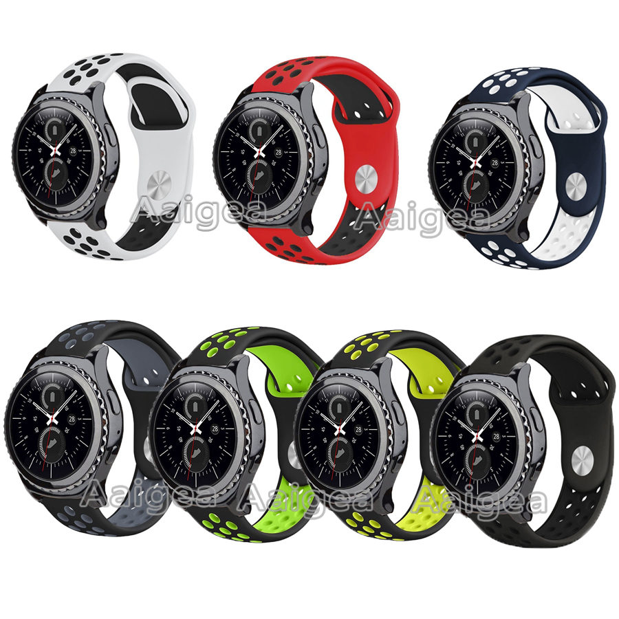 New Soft Silicone Band Replacement Strap for Samsung Gear S2 Classic Smart Watch Breathable Bracelet watchband for gear s2 band silicone band strap wristband for samsung gear s2