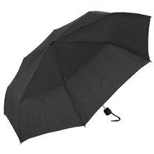 Ветрозащитный фирмы SUSINO путешествия зонтик ручной открытым водостойкий три складной металлический вал Ткань Эпонж компактный для женщин мужчин Зонты 2260
