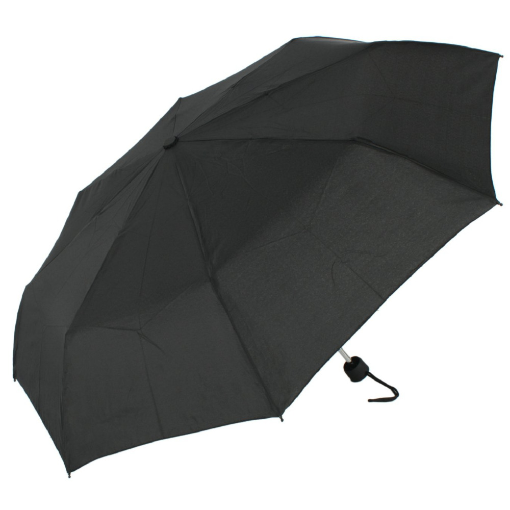 Susino a prueba de viento paraguas viajes MANUAL abierto impermeable tres eje de Metal tela de Pongee compacto de los hombres y las mujeres paraguas 2260