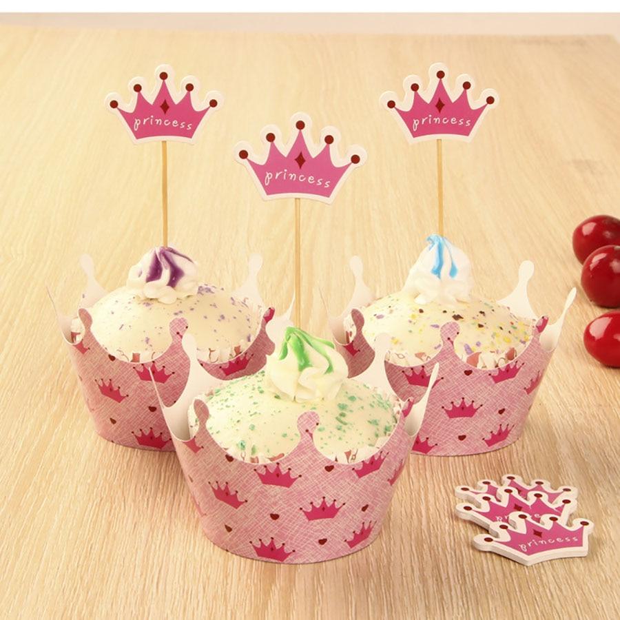 Cupcake Kitchen Decorations Online Get Cheap Hot Pink Cupcakes Aliexpresscom Alibaba Group