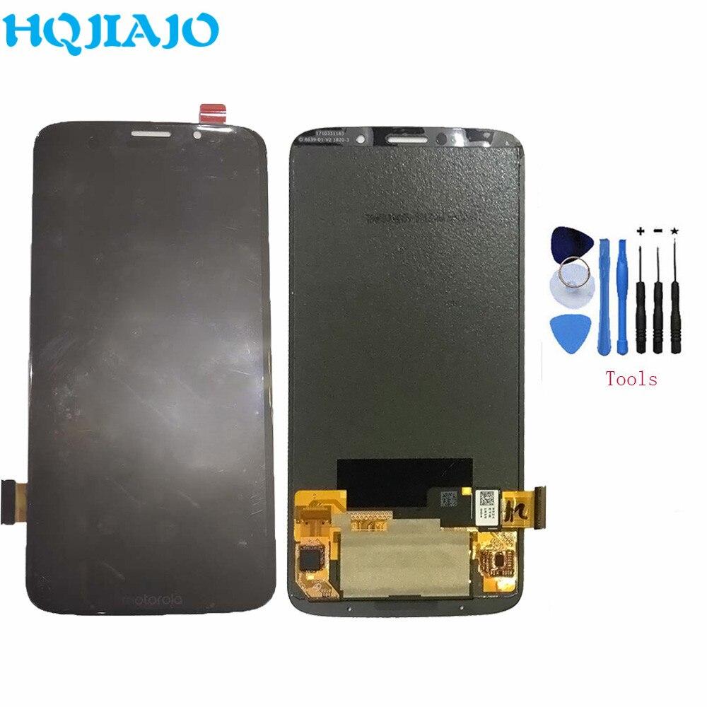 100% Test LCD Pour Motorola Moto Z3 Jouer XT1929 XT-1929 LCD Affichage à L'écran Tactile Digitizer Assemblée Pour Moto Z3 Jouer remplacement