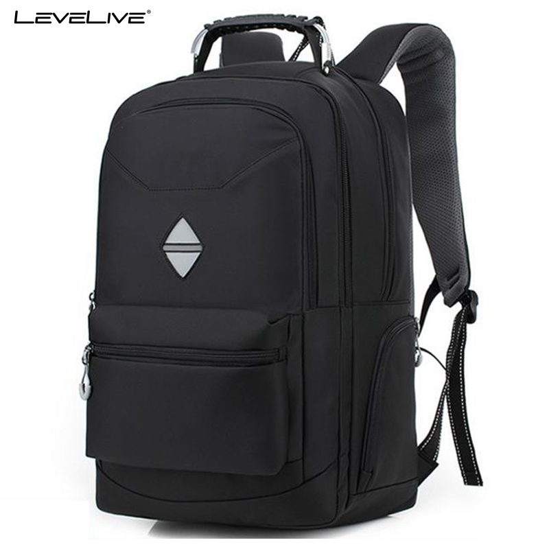 LeveLive Laptop Backpack Men Multifunction Antitheft Travel Bags Male Rucksack Waterproof Oxford Computer Backpacks For Teenager folding travel backpack multifunction shoulder storage bags women s men s portable male s school bag accessories supply