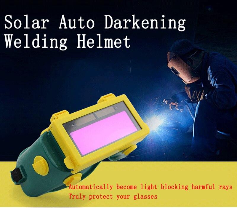high quality Solar Auto Darkening Welding glasses welders antiglare protective goggles Welding argon arc welding Shade  цены