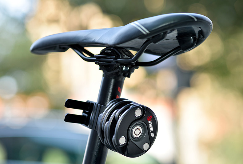 Bike Locks With Anti-Theft Mountain Folding Dead Fly Bicycle Chain Burger Lock