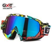 GXT мотокросса мотоциклетные очки ATV MTB DH ветрозащитное стекло для катания на лыжах мото велосипедные очки стеклянный шлем для кроссового вел...