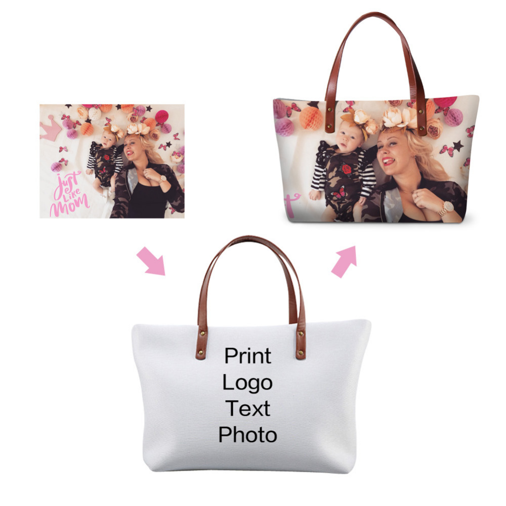 Dispalang Customized Design Womens Handbags Personalized Tote Bag Las Shoulder Bags Your Own Unique Handbag In From Luggage