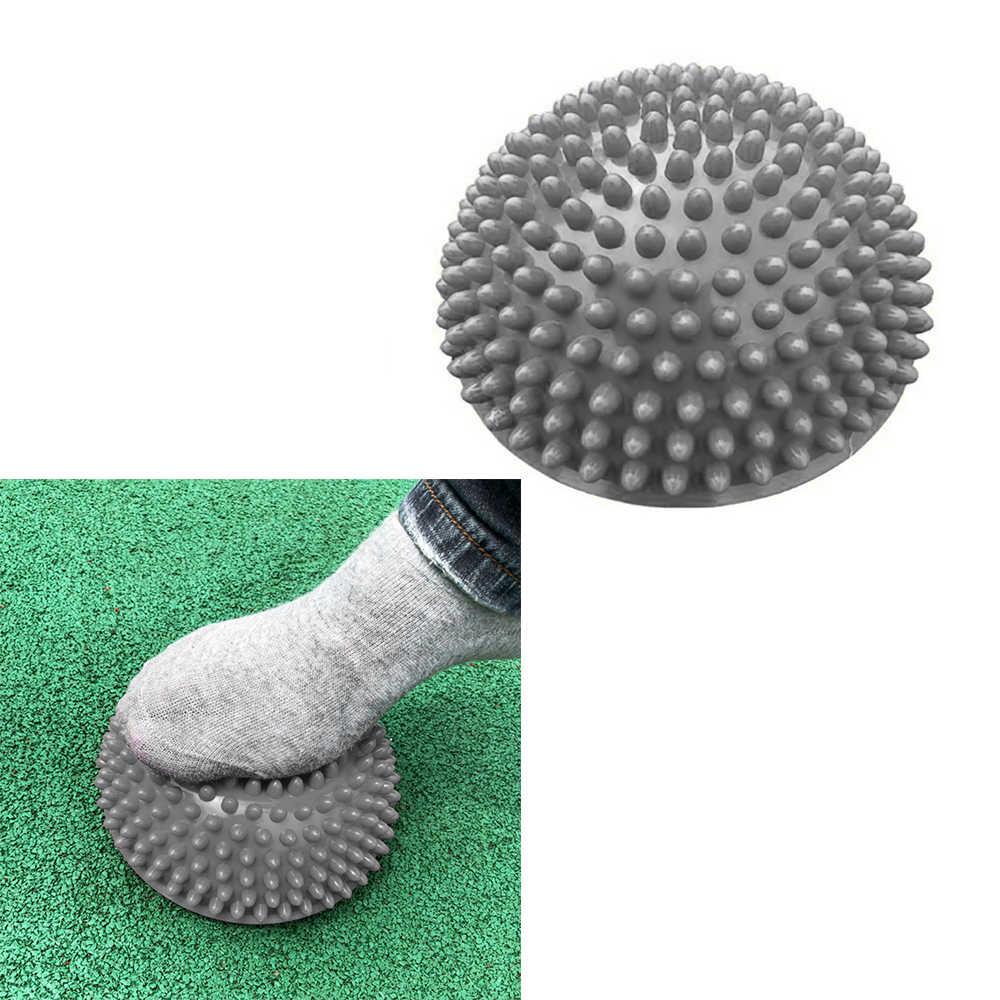 Надувной мяч для занятий йогой, массажный, наполовину Fitball, инструктор по упражнениям, стабилизатор, фитнес, Пилатес фитбол, мягкий детский