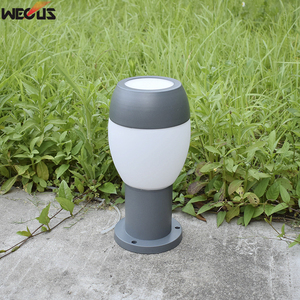 (WECUS) Independent research and development design, die-cast aluminum outdoor waterproof lawn lamp / column head lamp(China)