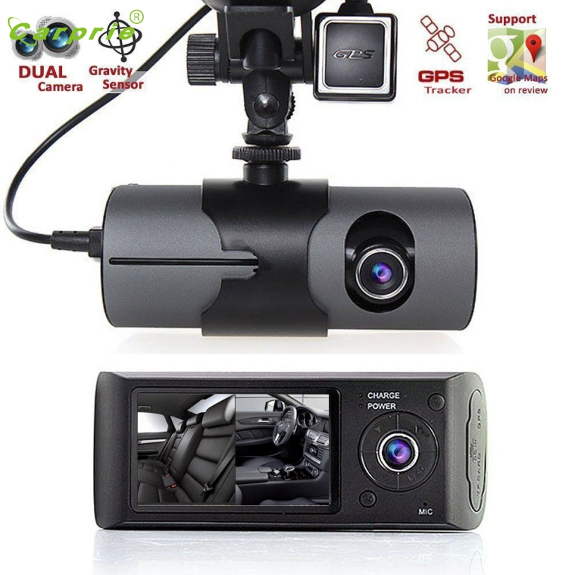 Franchise Before and after Double lens 2 7 Vehicle Car DVR Camera Video Recorder Dash Cam