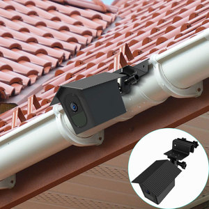 Image 1 - for Arlo Pro 2/Arlo Pro Camera Outdoor Gutter Mount with Weatherproof Protective Case Surveillance Camera Mounting Brackets