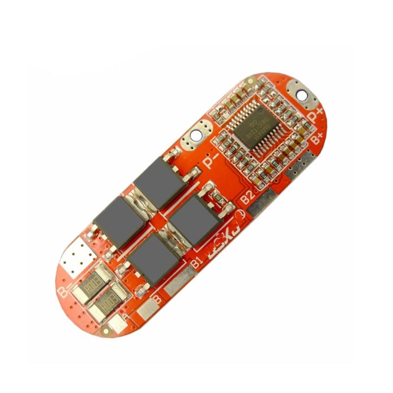 BMS 1S 2 10A 3S 4S 5S 25A BMS 18650 литийполимерное литийионное литий Батарея защита модуль печатной платы PCB PCM 18650 Lipo BMS Зарядное устройство