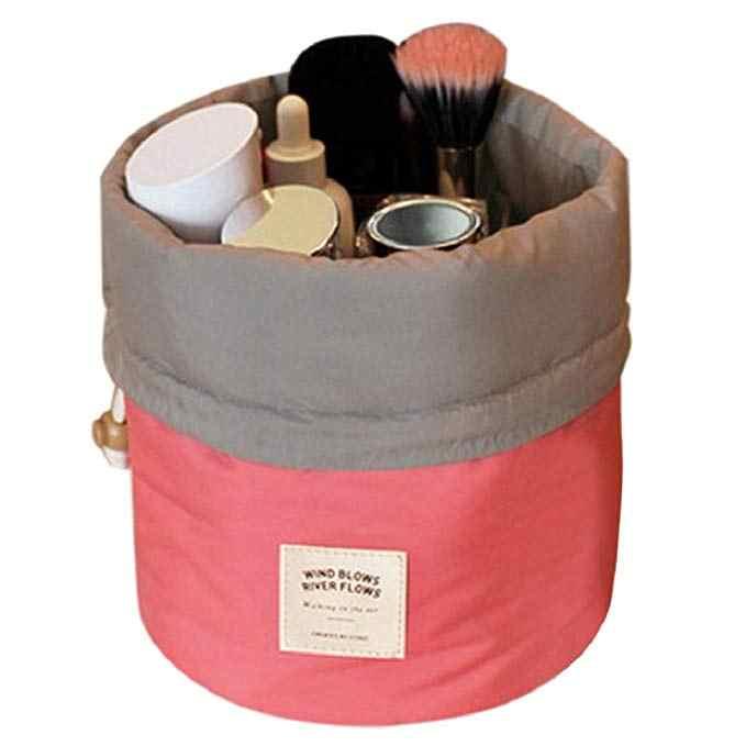 1 шт. круглый шнурок макияж аксессуары Косметическая несессер легко носить с собой Для женщин косметические инструменты 2 цвета
