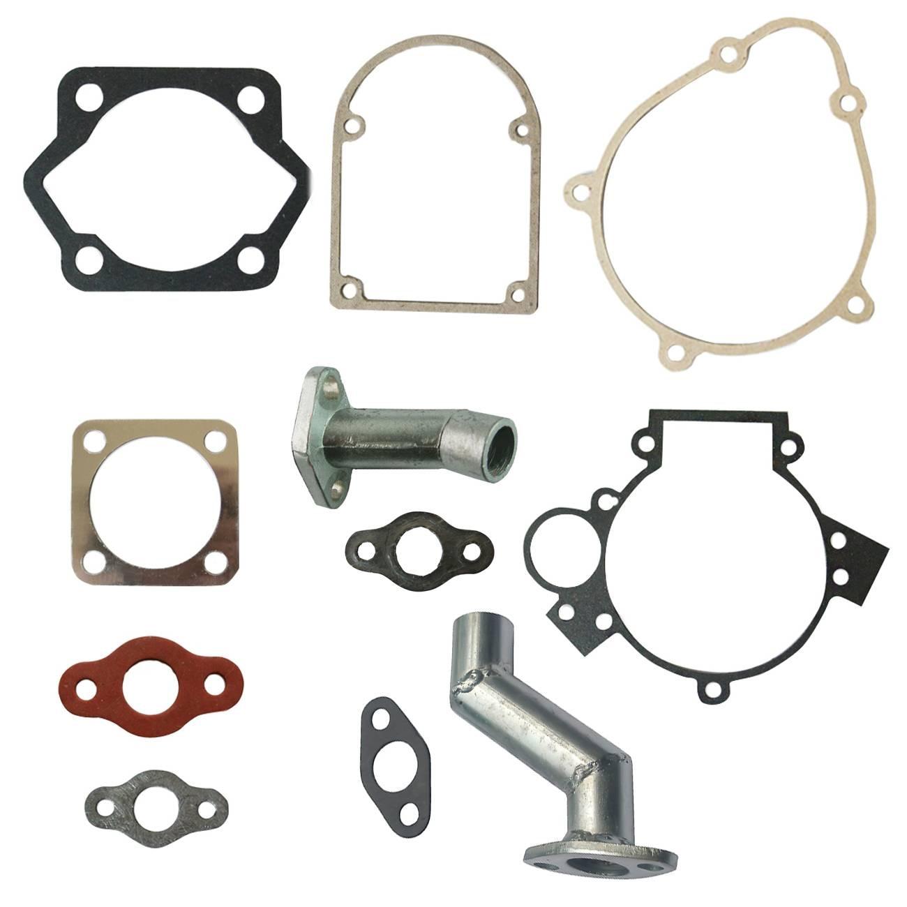 Gasket Kit&Intake Manifold Carburetor For 49cc 66cc 80cc 2 Stroke Motorized Bike solgar бета глюканы 1 3 60 таблеток специальные добавки