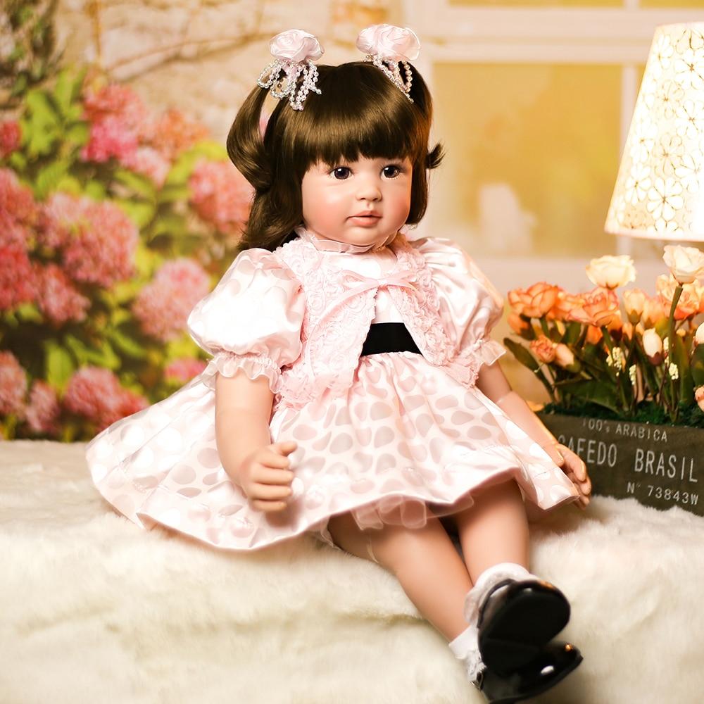 Здесь продается  Adora Reborn Silicone Baby Girl Doll Lifelike Princess Toddler Girl Doll Toys for Sale Girls Best Birthday Christmas Gifts  Игрушки и Хобби