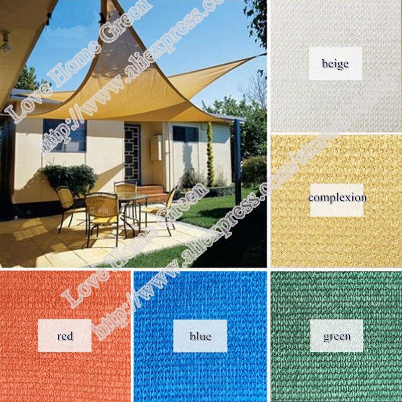 For Customized made HDPE Sun Shade Net Combination Shade garden awning Sun Shade Sail